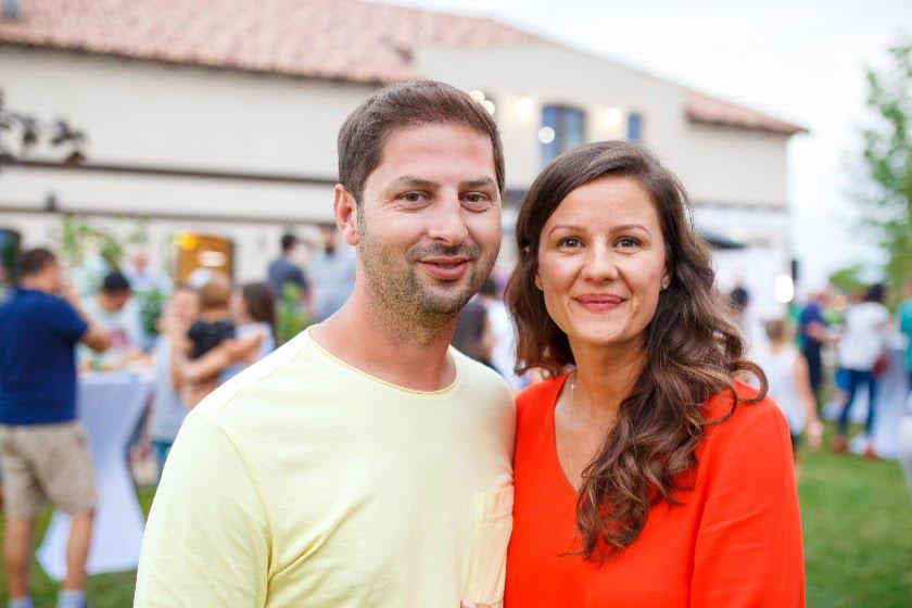 Bianca și Emanuel Bistrean, findatorii Westfield Arad.